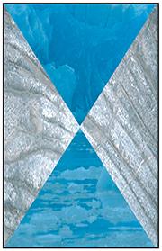 Gris et bleu