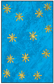 Or et bleu